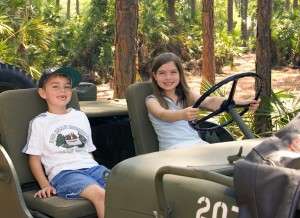 Kids Jeep Adventure